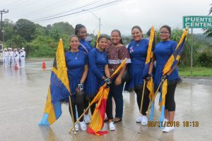 Sección de Color Guard